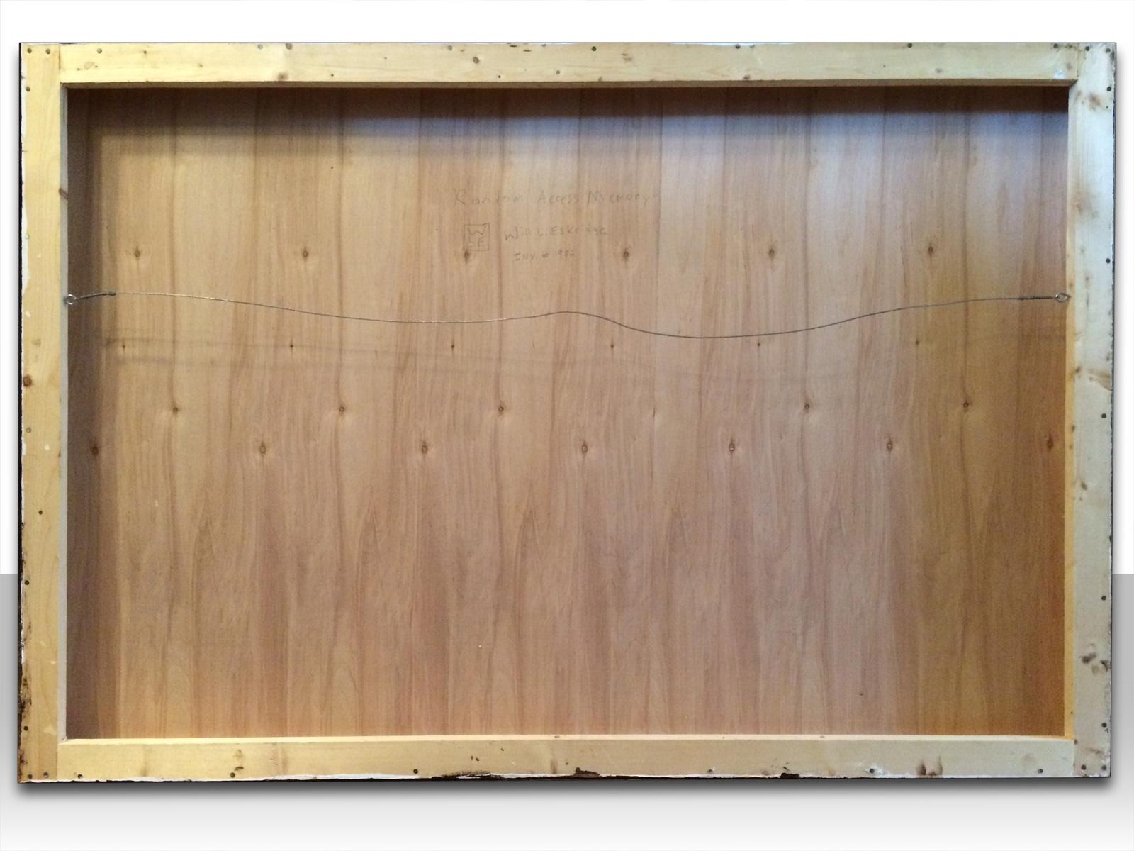 Wood-panel-back-animal-art-painting-Will-Eskridge