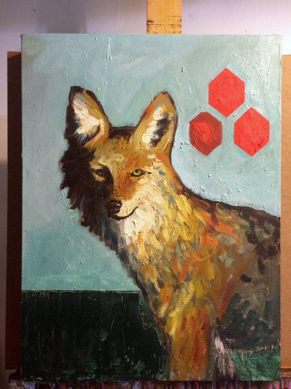 Works In Progress Wednesday: Fox On The Run