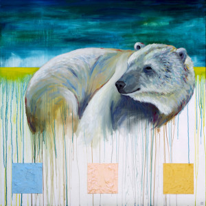Snuggle-Up-Its-Going-to-Get-Cold-animal-art-painting-Will-Eskridge-web