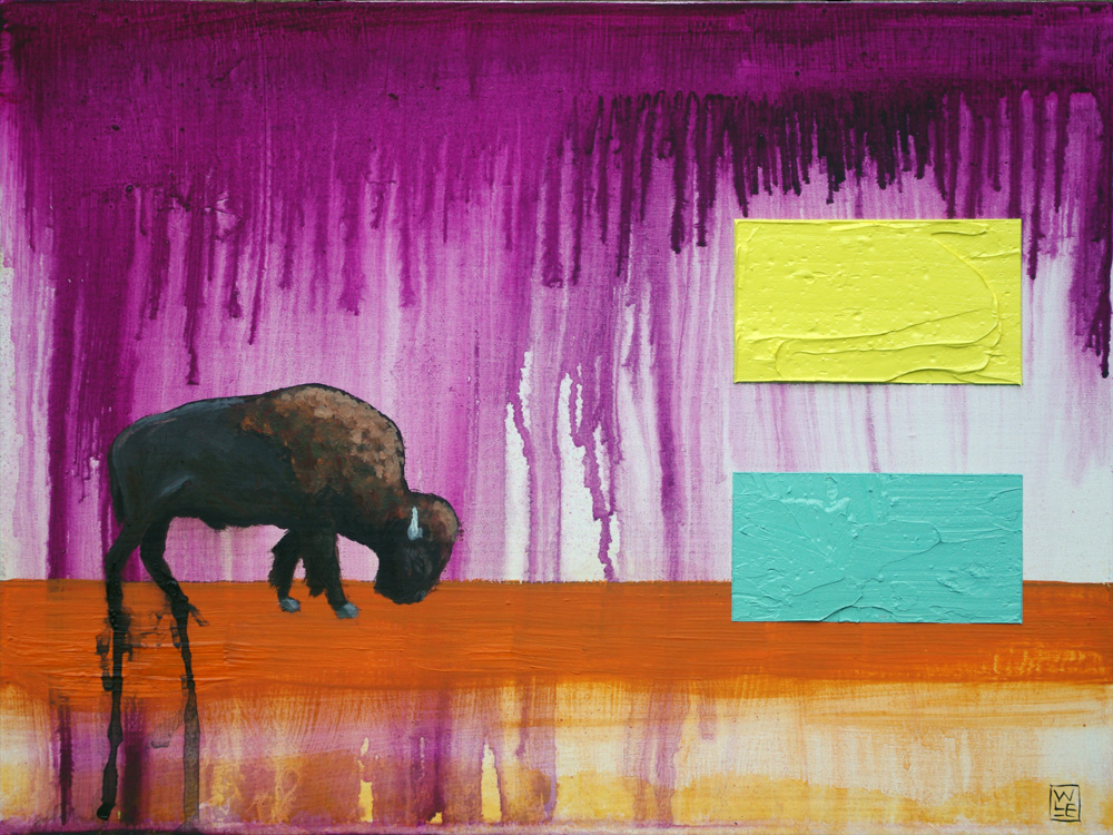 Where-Do-the-Buffalo-Roam-animal-art-painting-Will-Eskridge-web