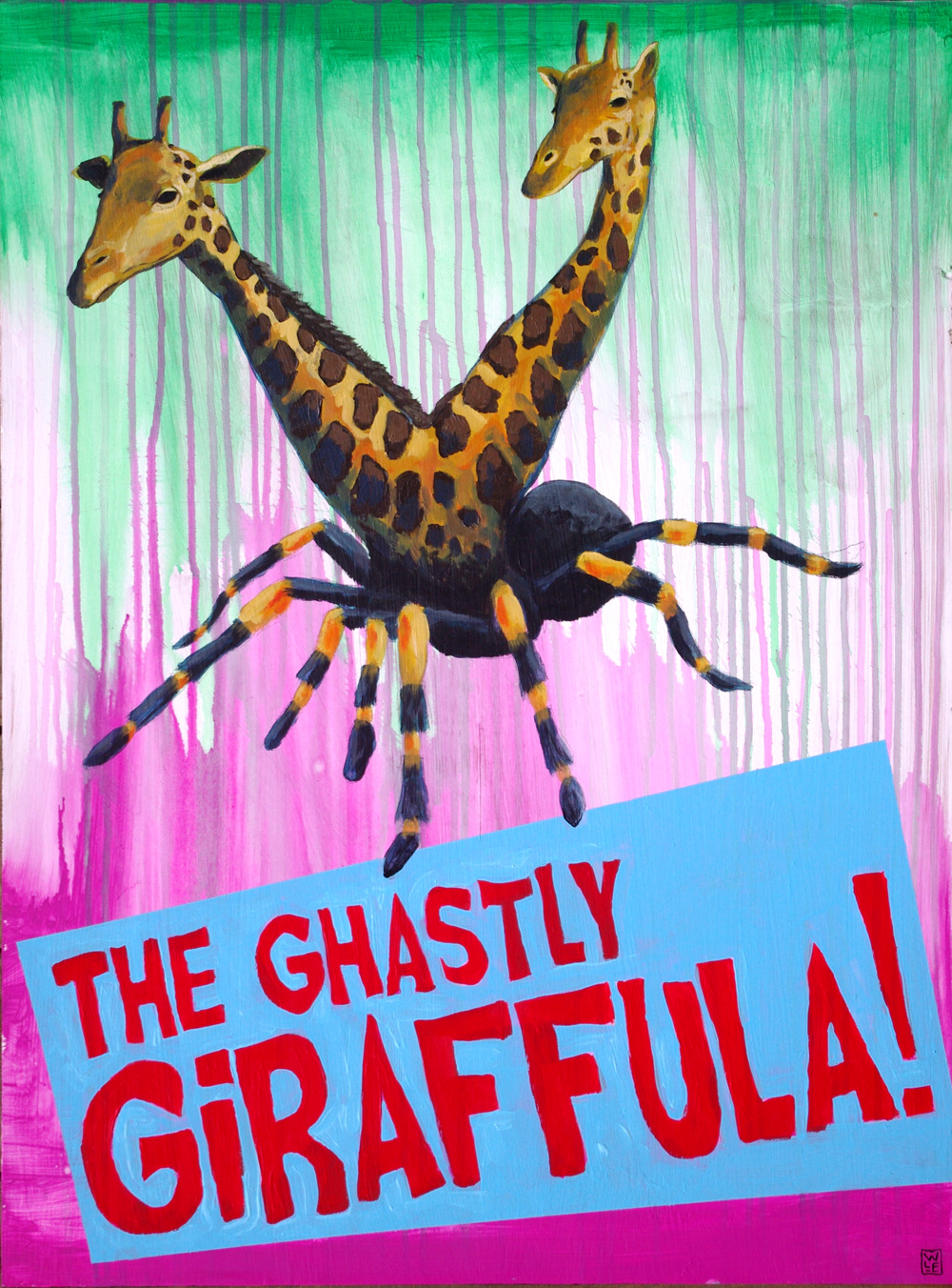 Haiku Tuesday: The Ghastly Giraffula