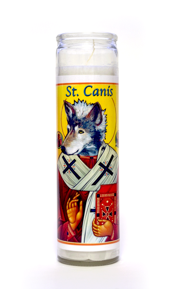 St. Canis Prayer Candle