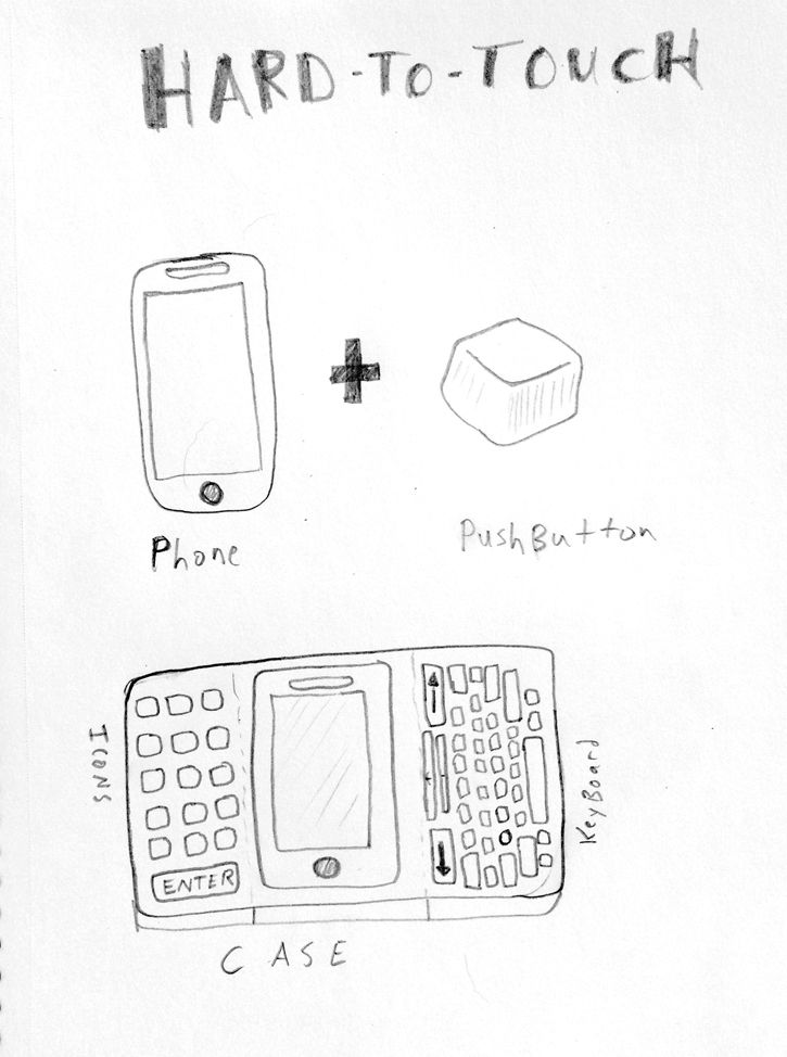 My Idiotic Inventions: Hard To Touch Case