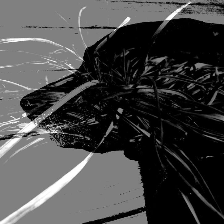 Double Dog Animal Art Will Eskridge
