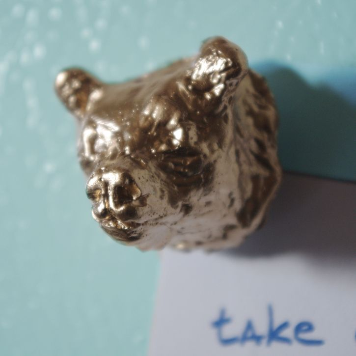 Bear Magnet Animal Artist Art Will Eskridge