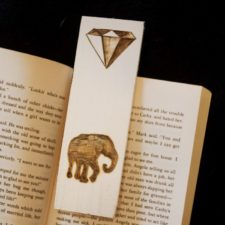 Elephant-gem-bookmark-animal-artist-art-will-eskridge-2