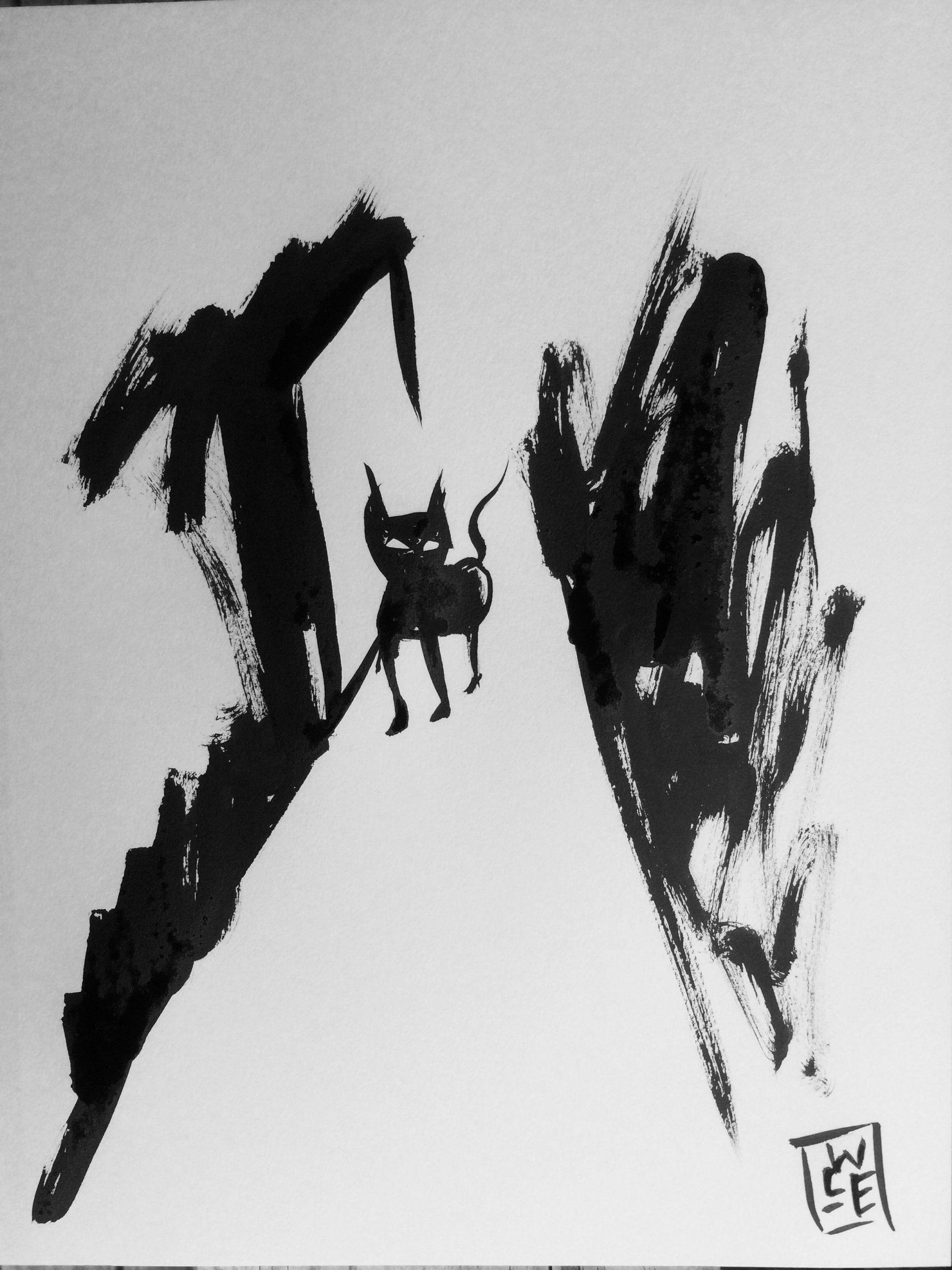Haiku Tuesday: Creeping Cat