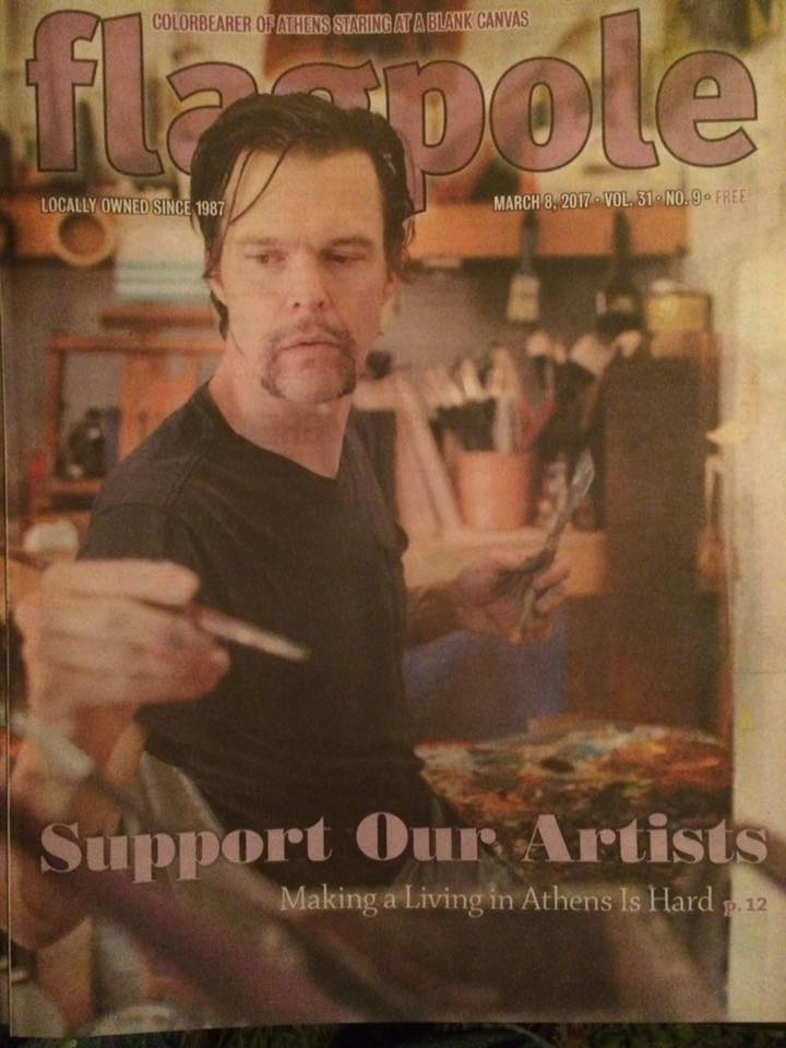 Rockin' It On This Week's Cover Of Flagpole Magazine!