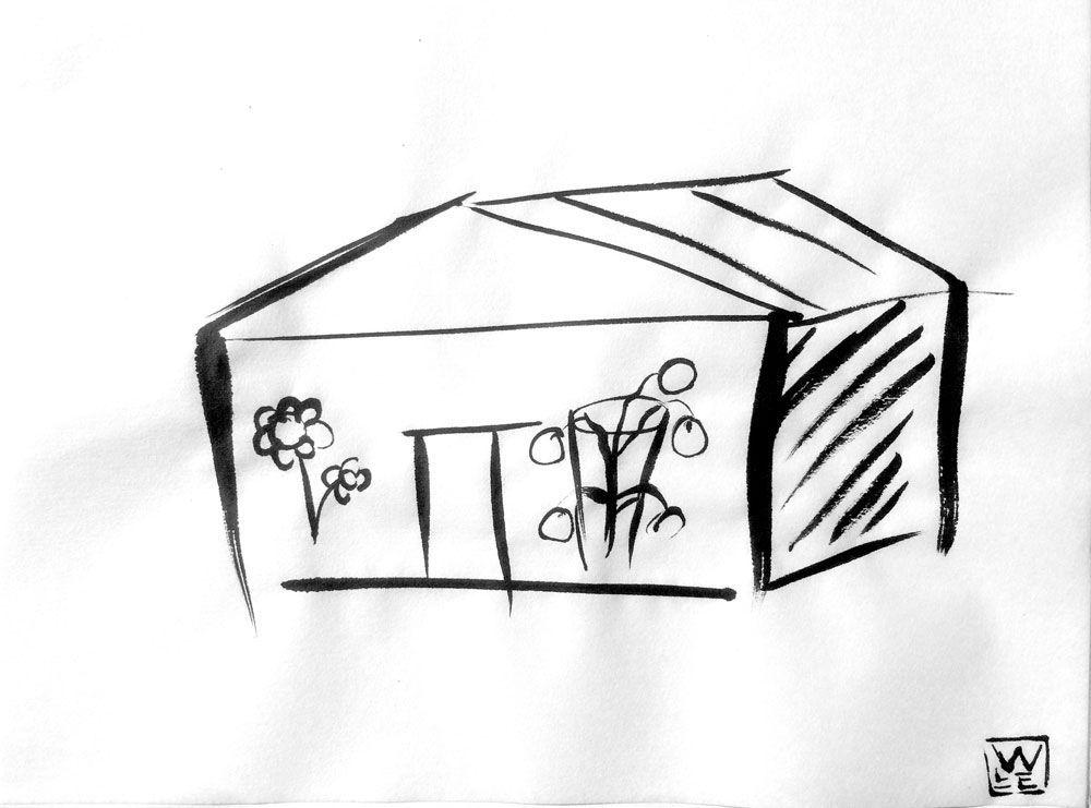 Greenhouse Haiku Art Will Eskridge