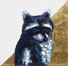 Rock And Roll All Night – Raccoon Portrait
