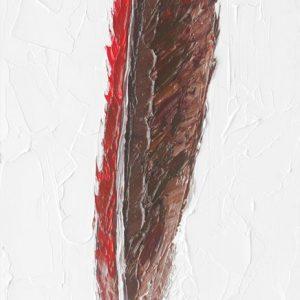 Northern-Cardinal-Feather-animal-artist-art-painting-wildlife-Will-Eskridge