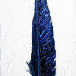 Raven-Feather-animal-artist-art-painting-wildlife-Will-Eskridge-web