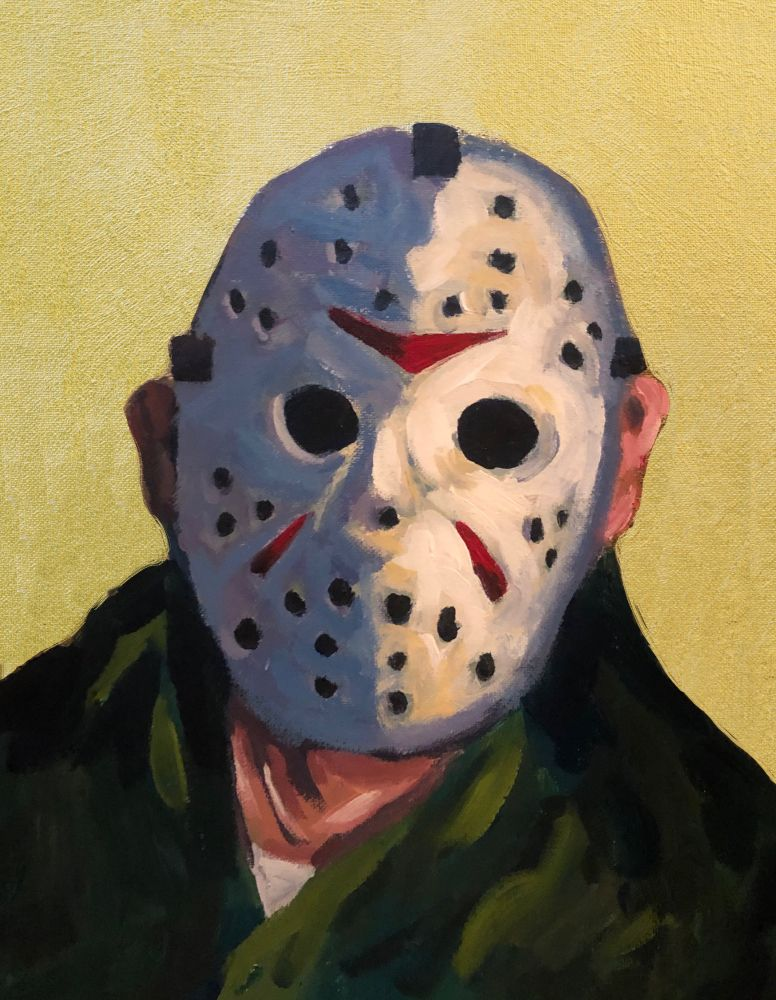 Saint Voorhees Original Painting